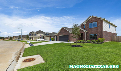 Rumah Baru di Magnolia, TX di Magnolia Ridge
